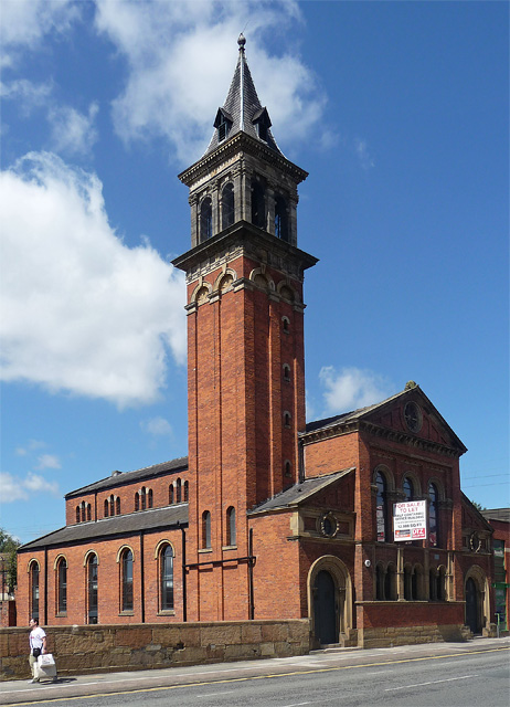 Former Congregational Chapel, Deansgate, Manchester