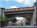 SJ8397 : Bridge, Deansgate, Manchester (2) by Stephen Richards