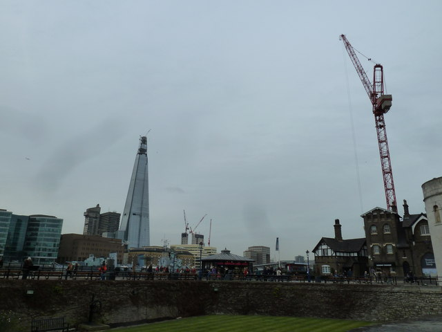 Looking from The Tower towards The Shard