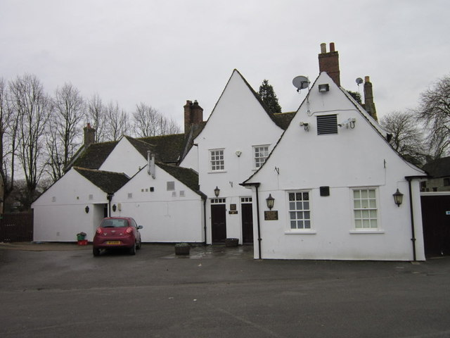 The rear to the Botolph Arms