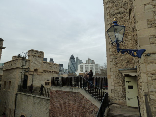 Looking from The Tower towards The Gherkin