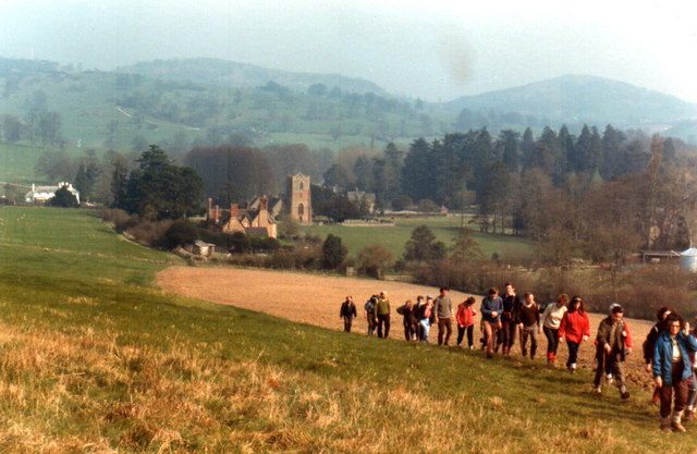 Climbing Eastnor Hill 1974