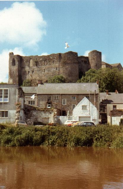Haverfordwest Castle 1971