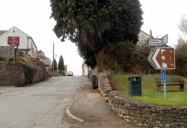 The Village Hill, Caerwent
