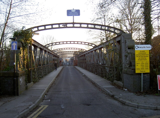 Bridge over Midland Road