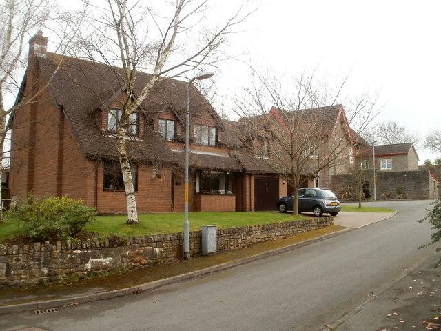 Caerwent Gardens houses, Caerwent