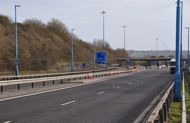 Severn Bridge : The M48 Motorway