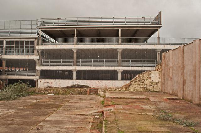 Hardaway Head Multi Storey Car Park as seen from Buller Road