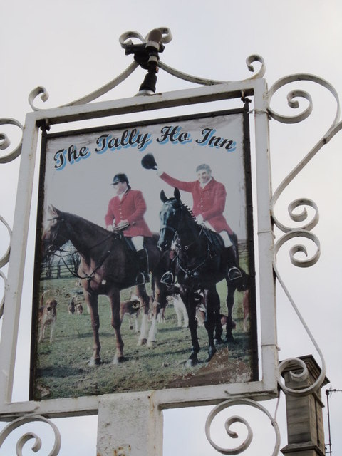 The Tally Ho Inn, on the A15