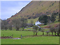 SN8275 : Fields below Tyllwyd by Nigel Brown