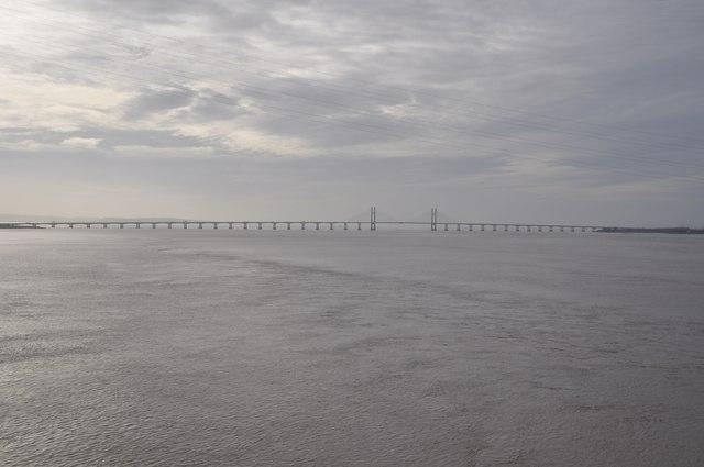 Severn Bridge : The River Severn