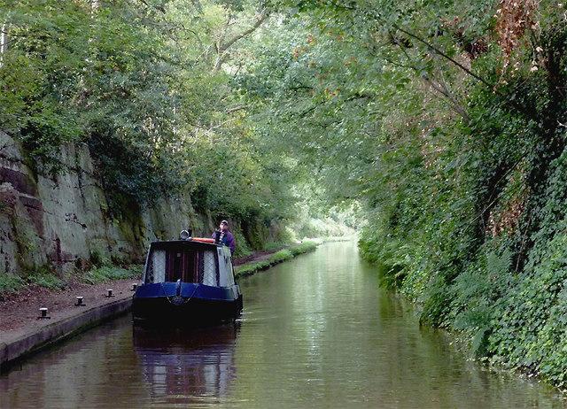 Shropshire Union Canal near Market Drayton, Shropshire