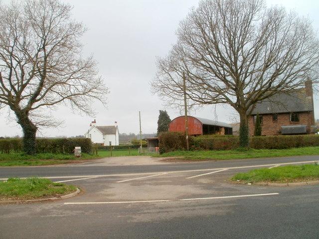 Entrance to Slough Farm near Caerwent