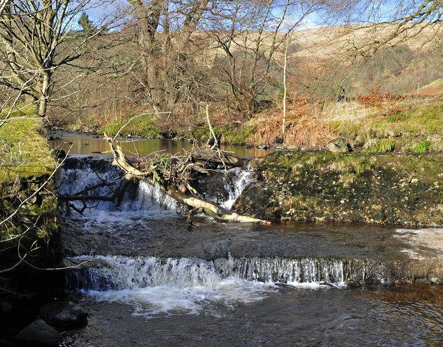 Weir on the Kirk Burn