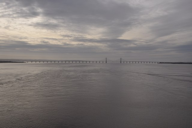 Severn Bridge : The River Severn
