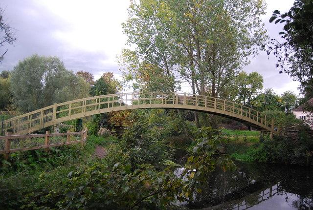 Footbridge, River Gipping
