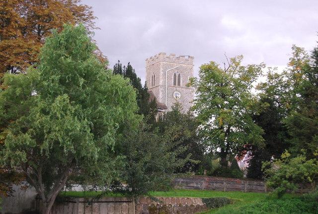 Church of All Saints, Sproughton