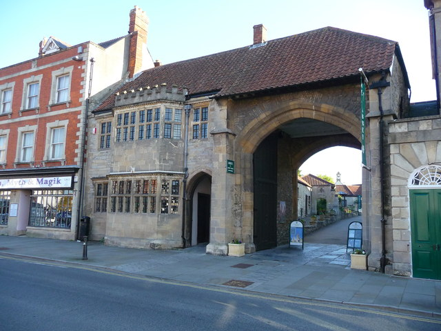 Glastonbury - The Entrance To Glastonbury Abbey