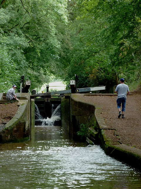 Tyrley Bottom Lock near Market Drayton