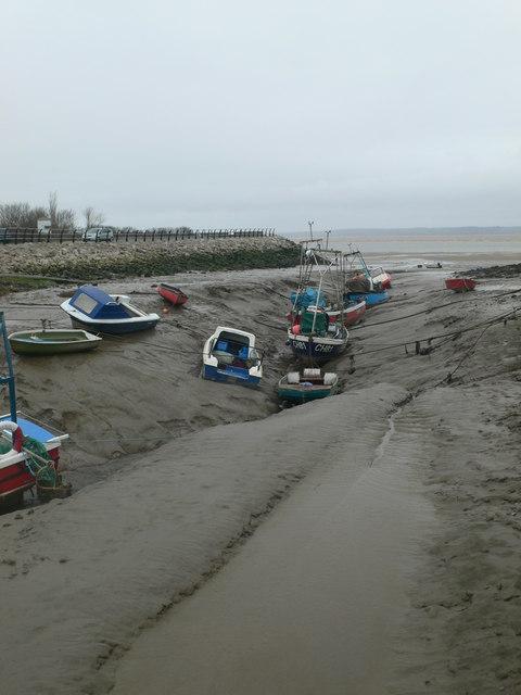 Boats in Greenfield Dock