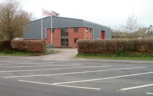 Sir Robert McAlpine premises, Crick