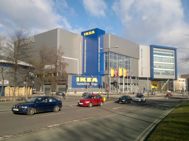 The IKEA Store Croft Road Coventry