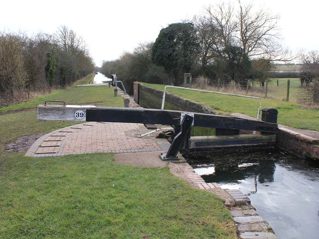 Bearley Lock no 39, Stratford-upon-Avon Canal