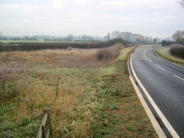 Great North Road at Spittle Bridge