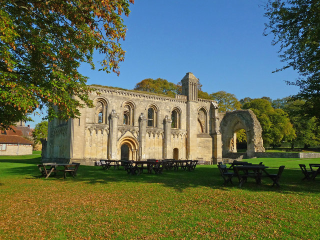 Glastonbury - Glastonbury Abbey Lady Chapel
