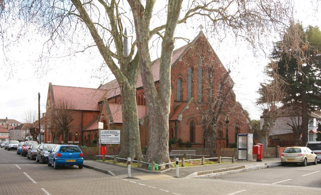 St Mark, St Mark's Road, Mitcham