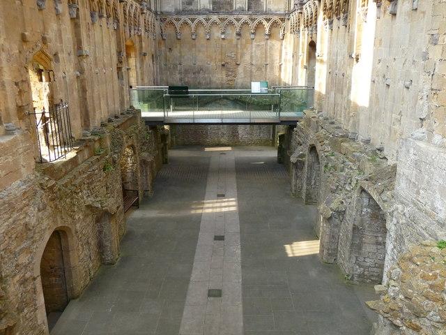 Glastonbury - Glastonbury Abbey Lady Chapel