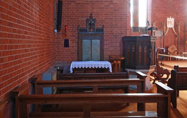 St Mark, St Mark's Road, Mitcham - North chapel