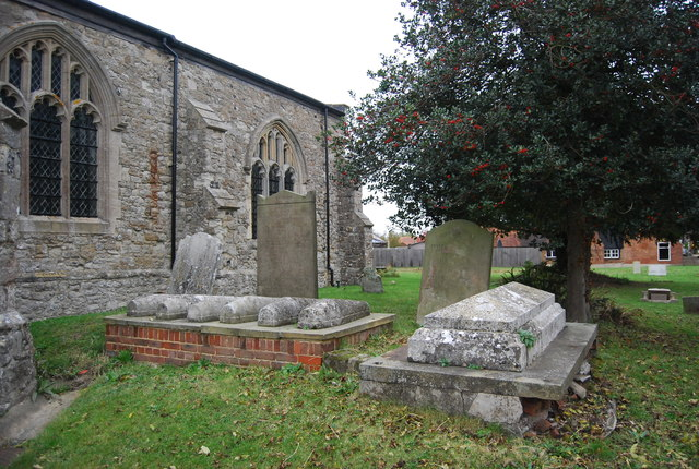 Graves, Churchyard, Church of St Margaret