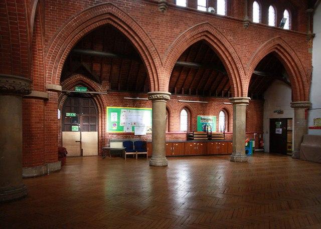 St Mark, St Mark's Road, Mitcham - Arcade