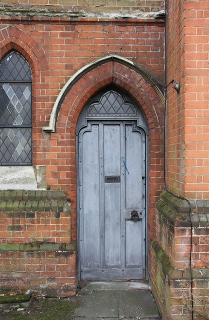St Mark, St Mark's Road, Mitcham - Doorway