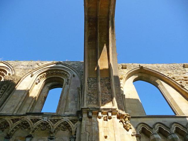 Glastonbury - Glastonbury Abbey Lady Chapels