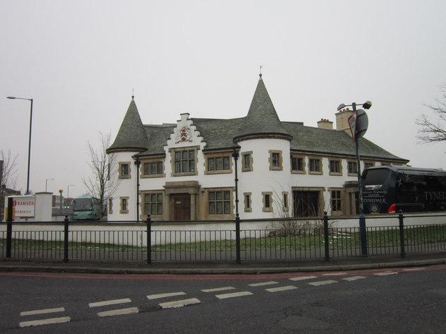 The Ramada Heathrow Hotel on the A4