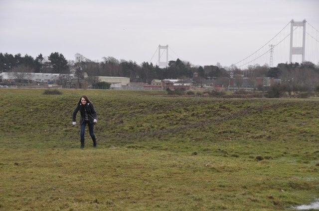 Chepstow : Grassy Field