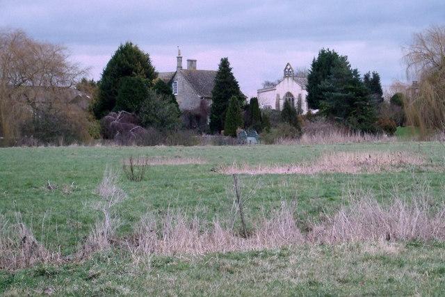 Church Farmhouse and Inglesham Church