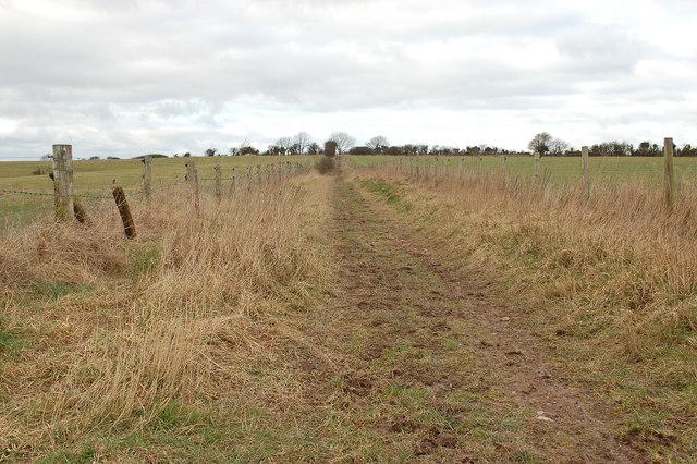 Footpath near Beacon Hill