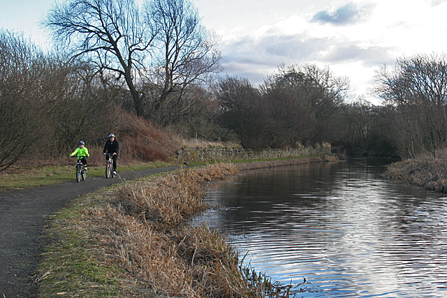 Cyclists on the Towpath