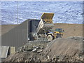 SE1264 : Giant dumper truck at Coldstones quarry : Week 7