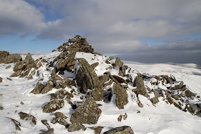 The Shepherds' Cairn on Cairn Law