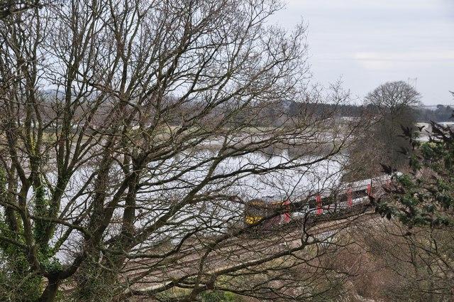 Chepstow : Railway & River Wye