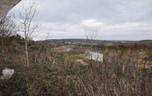 Chepstow : The River Wye & Scenery
