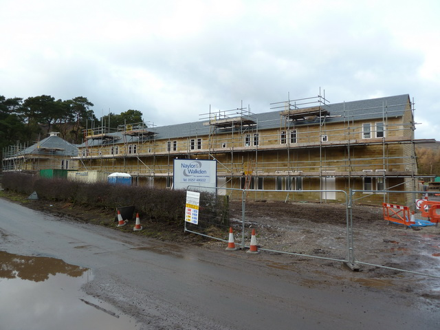 New houses, Dunsop Bridge