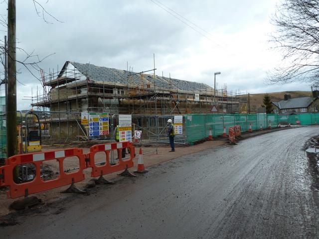 More new houses, Dunsop Bridge