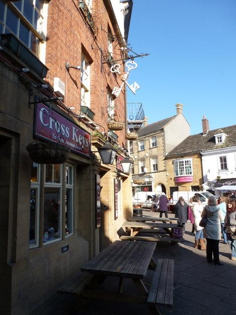 Sherborne: the Cross Keys Inn