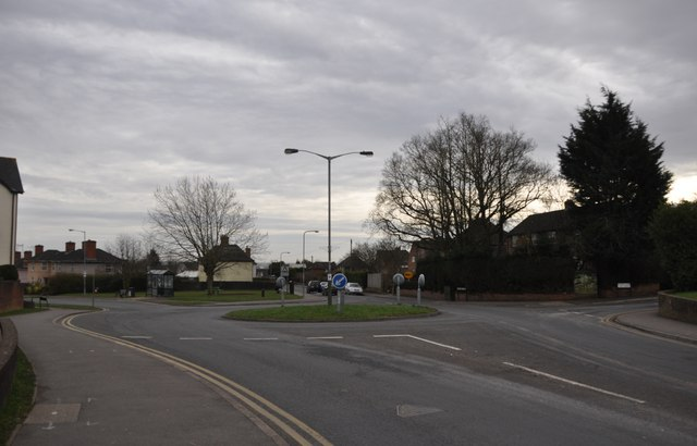Chepstow : Bulwark Road & Roundabout
