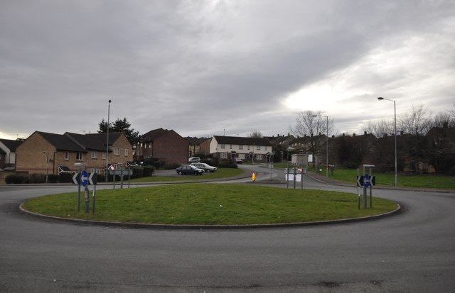 Chepstow : Thornwell Road Roundabout